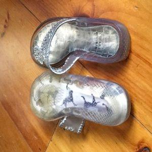 Stuart Weitzman Shoes - Stuart Weitzman Clear Thong Jelly Slides